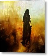 Walking Out From Chaos Metal Print