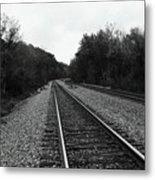 Walking The Line Metal Print