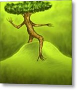 Walking Tree  Metal Print