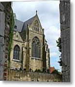Walkway To Thorn Cathedral Metal Print