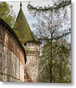 Wall And Tower Metal Print