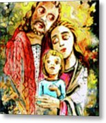 Wall Icon In Malta 06 Bis Metal Print