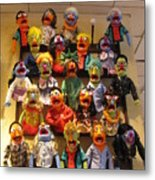 Wall Of Muppets Metal Print