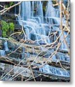 Wall Of Water Metal Print