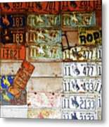 Wall Of Wyoming  Metal Print
