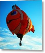 Wally The Clownfish Metal Print