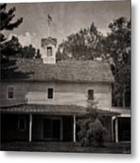 Walnford Carriage House Metal Print