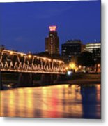 Walnut Street Bridge Metal Print