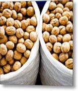Walnuts Metal Print