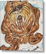 Walrus  Metal Print