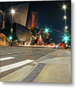Walt Disney Concert Hall - Los Angeles Art Metal Print