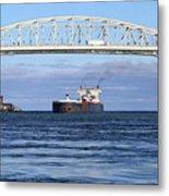 Walter J. Mccarthy And Blue Water Bridge 112917 Metal Print