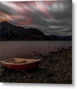 Wanaka Rowboat 2 Metal Print