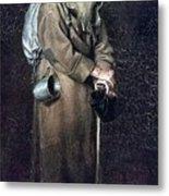 Wanderer H 1870 88h54 Am Gtg Vasily Perov Metal Print