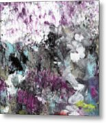 Wanderlust- Abstract Art By Linda Woods Metal Print