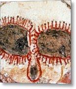 Wandjina Face Metal Print