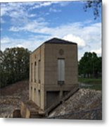 Wappapello Dam Gate House Metal Print