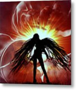 War Angel Metal Print