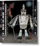 War Games With Fritz Metal Print