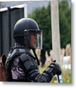 War Horse IIi - Tarqui Protest Metal Print