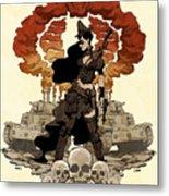 War Maiden Metal Print