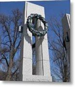 War Memorial D.c. Metal Print