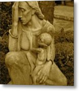 War Mother By Charles Umlauf Metal Print