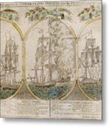 War Of 1812: Victories Metal Print