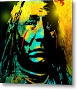 War Paint Metal Print
