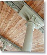Warehouse Columns Metal Print