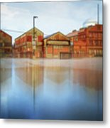 Warehouses Metal Print