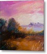Warm Colorful Landscape Metal Print