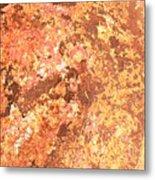 Warm Colors Natural Canvas 2 Metal Print