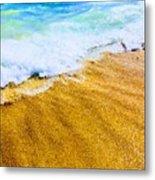 Warm Sand Metal Print