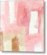 Warm Spring 2- Abstract Art By Linda Woods Metal Print