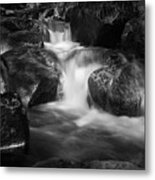 Warme Bode, Harz - Monochrome Version Metal Print