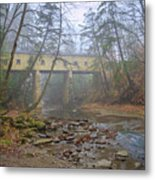 Warner Hollow Rd Covered Bridge Metal Print
