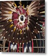 Warrior Feathers Metal Print