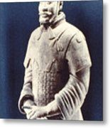 Warrior Of The Terracotta Army Metal Print