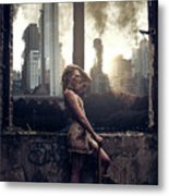 Warriors Come Out To Play Metal Print