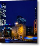 Warsaw Downtown Metal Print