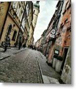 Warsaw, The Old Town Metal Print