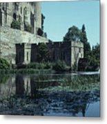 Warwick Castle Metal Print by David Pettit