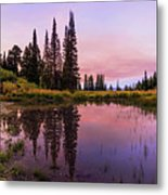 Wasatch Back Metal Print