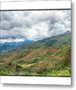 Wasatch Mountains Metal Print