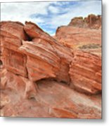 Wash 3 Beehives In Valley Of Fire Metal Print