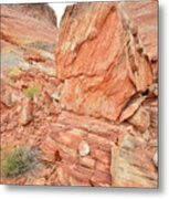 Wash 3 Of Valley Of Fire Metal Print