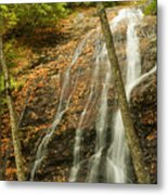 Wash Hollow Falls Nantahala National Forest Nc Metal Print