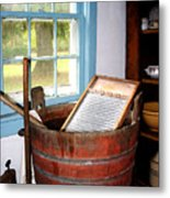 Washboard Metal Print by Susan Savad