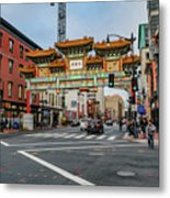Washington D.c. Chinatown Metal Print
